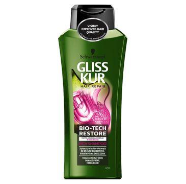 Gliss Kur Bio-Tech Restore szampon do włosów delikatnych i podatnych na zniszczenia 400ml