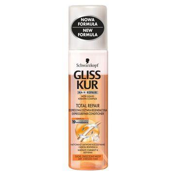 Gliss Kur odżywka-spray do włosów suchych i zniszczonych wzmacniająca 200 ml