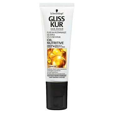 Gliss Kur Oil Nutritive Split-Ends Serum serum na rozdwajające się końcówki 50ml