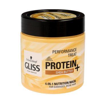 Gliss – maska do włosów Protein and Nutrition (do włosów słabych i zniszczonych 400 ml)