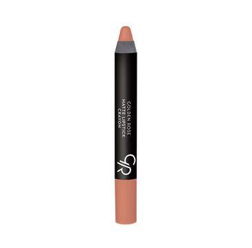 Golden Rose Matte Crayon Lipstick matowa pomadka do ust w kredce 26 1 szt.