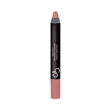 Golden Rose Matte Crayon Lipstick Matowa Pomadka do ust w kredce 28 1 szt.