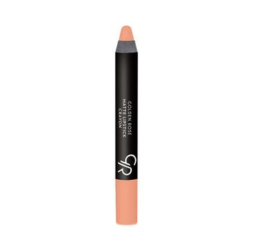 Golden Rose Matte Crayon Lipstick matowa pomadka do ust w kredce nr 25 1 szt.