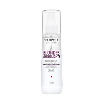 Goldwell Dualsenses Blondes & Highlights Brilliance Serum Spray nabłyszczające serum w sprayu do włosów blond 150ml