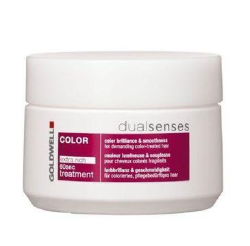 Goldwell Dualsenses Color 60s Treatment nabłyszczająca maska do włosów farbowanych 200ml