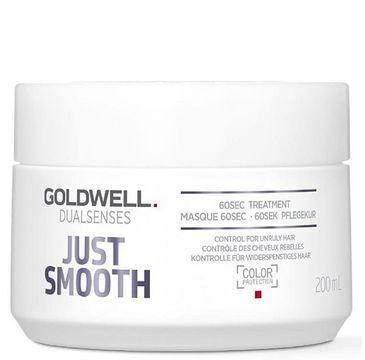 Goldwell Dualsenses Just Smooth 60s Treatment wygładzająca maska do włosów 200ml