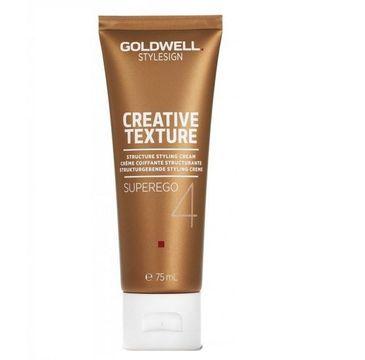 Goldwell Stylesign Creative Texture Structure Styling Cream krem stylizacyjny nadający strukturę Superego 4 75ml
