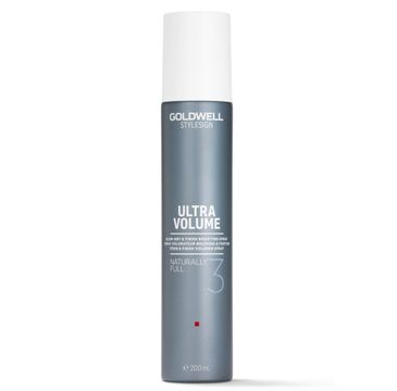 Goldwell – Stylesign Ultra Volume Naturally Full 3 spray nadający objętość włosom (200 ml)