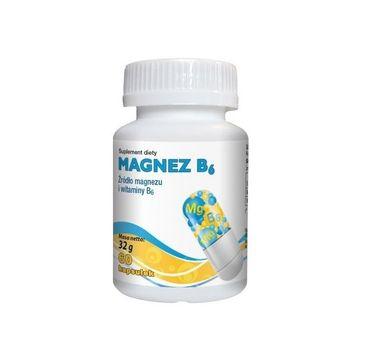 Gorvita Magnez B6 suplement diety 60 kapsułek