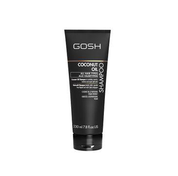 Gosh Coconut Oil Shampoo szampon do włosów z olejem kokosowym (230 ml)