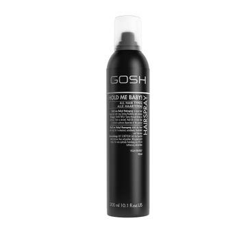 Gosh Hold Me Baby! Hairspray lakier do włosów mocno utrwalający (300 ml)