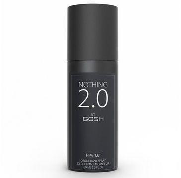 Gosh – Nothing 2.0 Him dezodorant spray (150 ml)