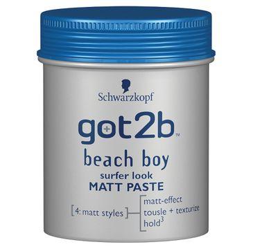 Got2b Beach Boy pasta do włosów modelująca matująca 100 ml