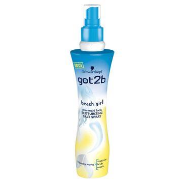 Got2b Beach Girl spray do włosów z solą podkreśla loki 200 ml