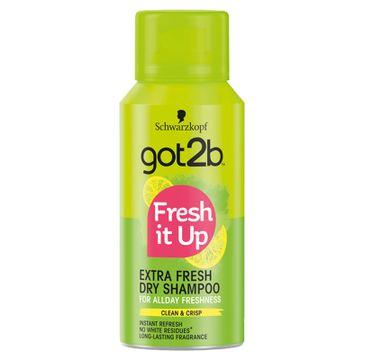 Got2B – Fresh It Up Dry Shampoo suchy szampon do włosów Extra Fresh (100 ml)