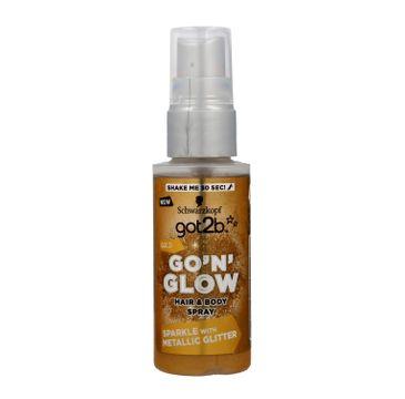 GOT2B GLOW Spray rozświetlający złoty 50 ml