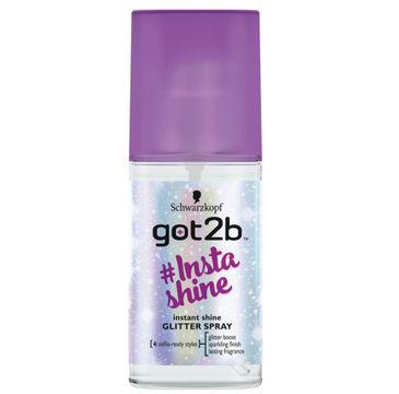 Got2B #Insta-shine Glitter Spray brokatowy spray do włosów 75ml