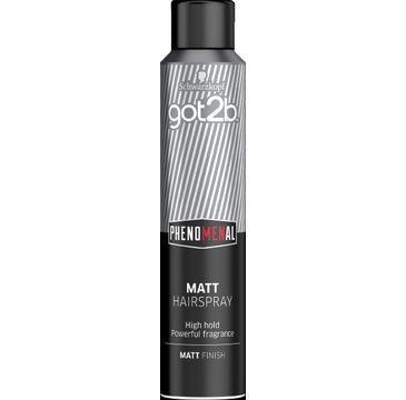 Got2B – Lakier do włosów Phenomal Matt (200 ml)