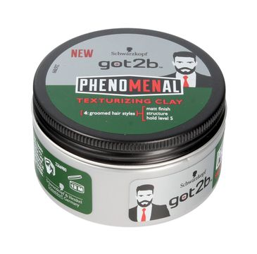Got2b Phenomenal pasta do układania włosów Texturizing Clay 100 ml