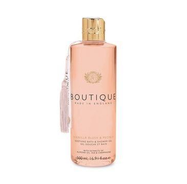 Grace Cole Boutique Bath & Shower Gel żel do kąpieli i pod prysznic Vanilla Blush & Peony 500ml