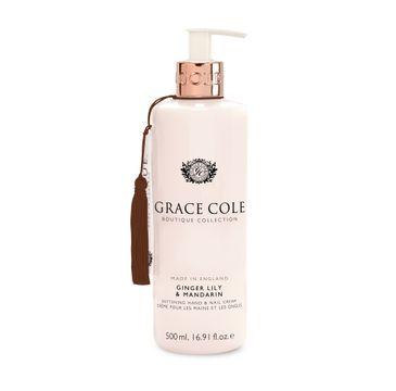 Grace Cole Boutique Hand & Nail Cream krem do rąk i paznokci Ginger Lily & Mandarin 500ml