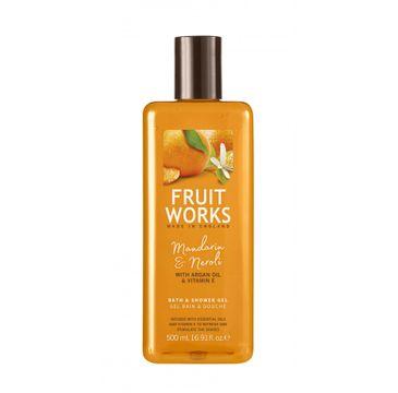 Grace Cole Fruit Works Bath & Shower Gel żel pod prysznic Mandarin & Neroli 500ml