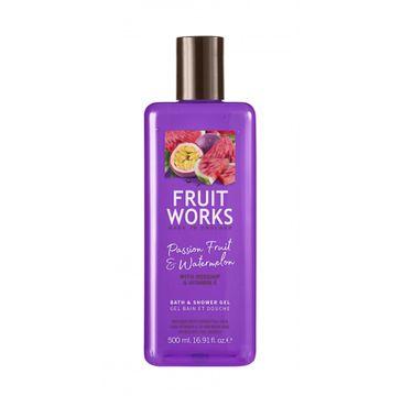 Grace Cole Fruit Works Bath & Shower Gel żel pod prysznic Passion Fruit & Watermelon 500ml