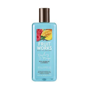 Grace Cole Fruit Works Bath & Shower Gel żel pod prysznic Raspberry & Mango 500ml
