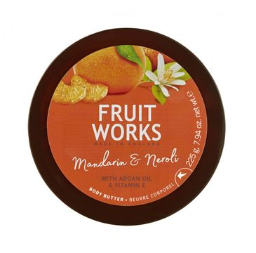 Grace Cole Fruit Works Body Butter masło do ciała Mandarin & Neroli 225g
