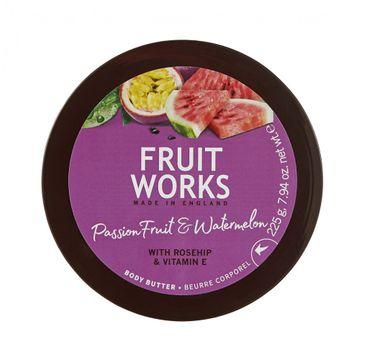 Grace Cole Fruit Works Body Butter masło do ciała Passion Fruit & Watermelon 225g