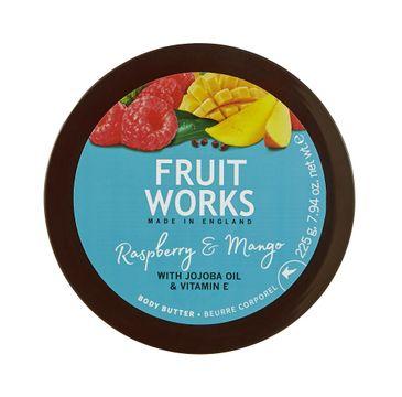 Grace Cole Fruit Works Body Butter masło do ciała Raspberry & Mango 225g