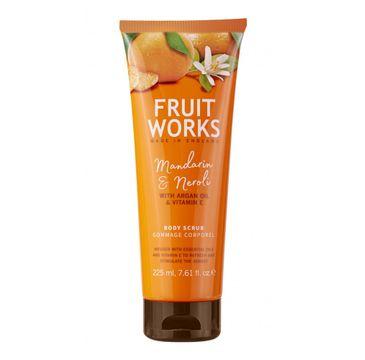 Grace Cole Fruit Works Body Scrub peeling do ciała Mandarin & Neroli 225ml