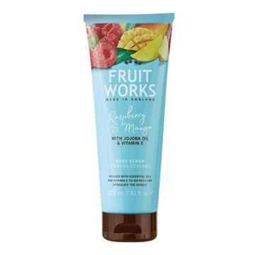 Grace Cole Fruit Works Body Scrub peeling do ciała Raspberry & Mango 225ml