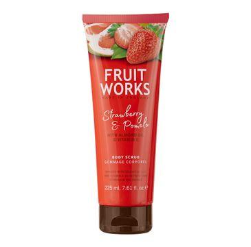 Grace Cole Fruit Works Body Scrub peeling do ciała Strawberry & Pomelo 225ml