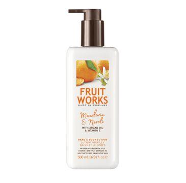 Grace Cole Fruit Works Hand & Body Lotion balsam do rąk i ciała Mandarin & Neroli 500ml