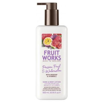 Grace Cole Fruit Works Hand & Body Lotion balsam do rąk i ciała Passion Fruit & Watermelon 500ml