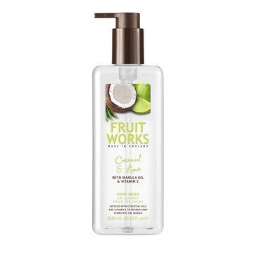 Grace Cole Fruit Works Hand Wash mydło do rąk Coconut & Lime 500ml