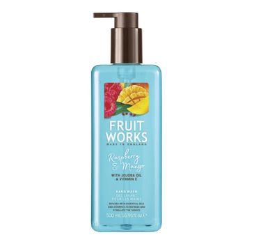 Grace Cole Fruit Works Hand Wash mydło do rąk Raspberry & Mango 500ml