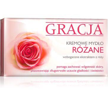 Gracja mydełko w kostce do każdego typu skóry różane 100 g