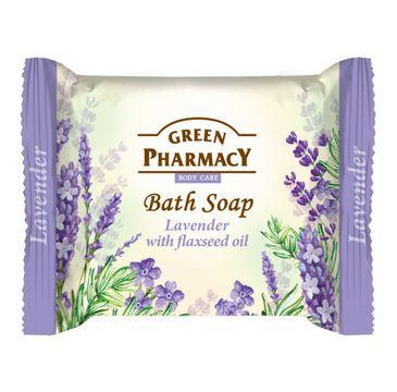Green Pharmacy Bath Soap mydło w kostce Lawenda i Olej Lniany (100 g)