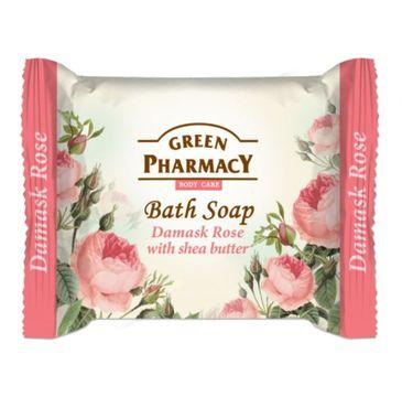 Green Pharmacy Bath Soap - mydło w kostce Róża Damasceńska i Masło Shea 100 g