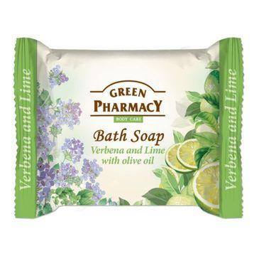 Green Pharmacy Bath Soap mydło w kostce Werbena i Olejek z Limonki (100 g)