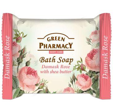 Green Pharmacy Body Care Damask Rose mydło do każdego typu skóry w kostce 100 g
