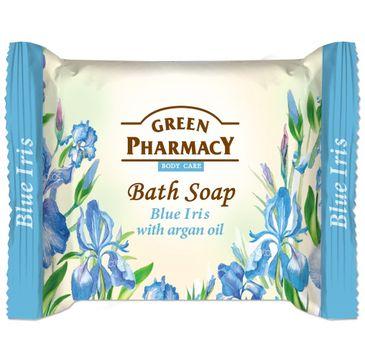 Green Pharmacy Body Care mydło do każdego typu skóry w kostce Blue Iris 100 g