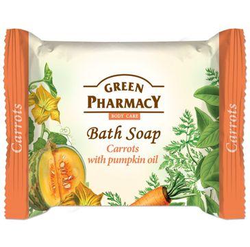 Green Pharmacy Body Care mydło do każdego typu skóry w kostce Carrots 100 g