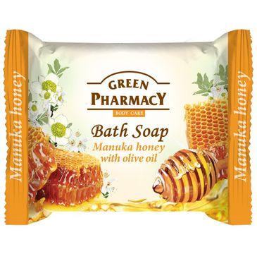 Green Pharmacy Body Care mydło do każdego typu skóry w kostce Manuka Honey 100 g