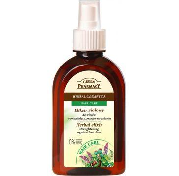 Green Pharmacy Eliksir ziołowy do włosów wzmacniający przeciw wypadaniu (250 ml)