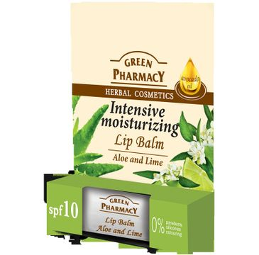 Green Pharmacy Lip Balm balsam do ust Intensive Moisturizing 3,6 g