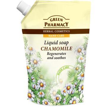 Green Pharmacy mydło w płynie do każdego typu skóry zapas rumianek 465 ml