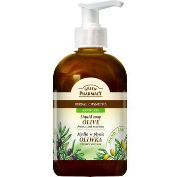 Green Pharmacy mydło w płynie oliwka 465 ml
